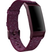 Charge 4,Woven Band,Rosewood,Small