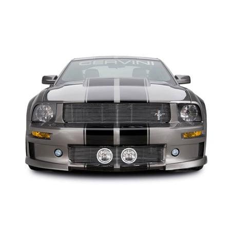 Cervini 2005-2009 Ford Mustang Bumper Grille Driving Lights Body Kit Fog Lamps