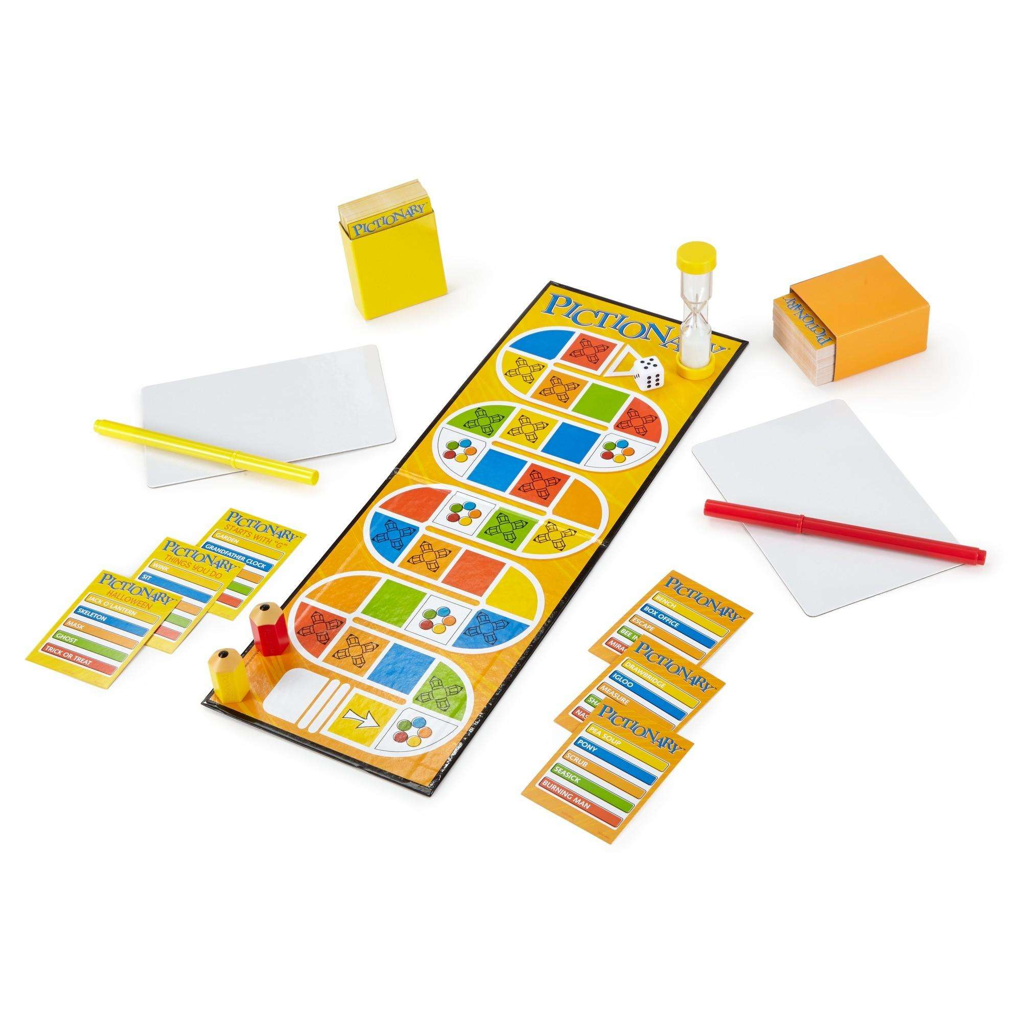 Pictionary Quick-Draw Guessing Game with Adult and Junior Clues - Walmart.com