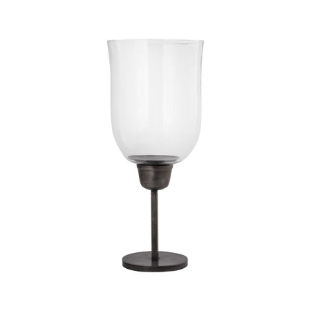 Normandy Finish (Pomeroy Normandy Metal And Glass Candle Holder In Clear Finish)