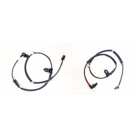 Set of 2 ABS Wheel Speed Sensors for 07 - 09 Hyundai Santa Fe Front Left & Right