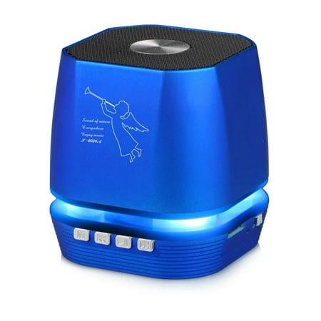 Lighting Wireless Speaker w/ FM Radio for Motorola Moto Z3, Z3 Play, Z, Moto Z2 Force, Z Force Droid (Blue) (Motorola Wireless Speaker)