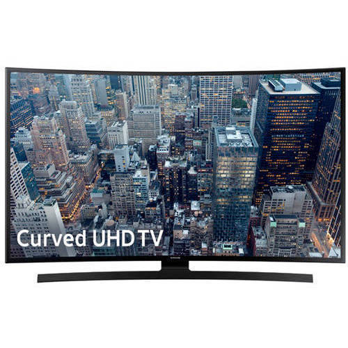 "Refurbished Samsung 65"" Class Curved, 4K Ultra HD, Smart, LED TV 2160p, 60Hz (JU670DF) by Samsung"