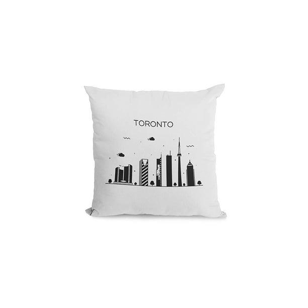 Bonnie Jeans Homestead Prints Toronto Pillow Cover White 20x20 Walmart Com Walmart Com