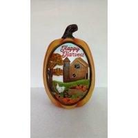 "Way To Celebrate Harvest Pumpkin, Happy Harvest, 12"""