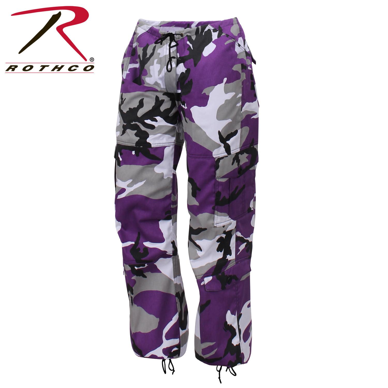 Rothco Womens Paratrooper Colored Camo Fatigues