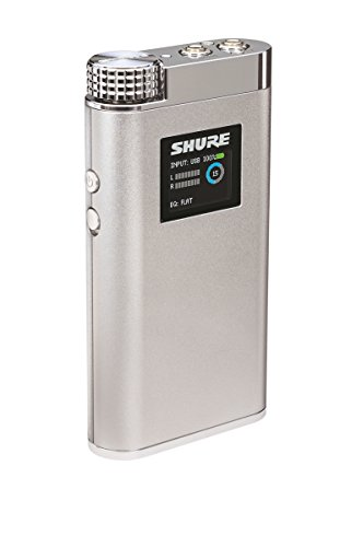 Shure SHA900 Portable Listening Amplifier with USB DAC and Customizable EQ Control by Shure