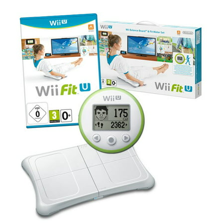 Wii Fit U Bundle With Balance Board, Game And