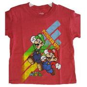 Boys Red Cartoon Character Printed T-Shirt 8-12