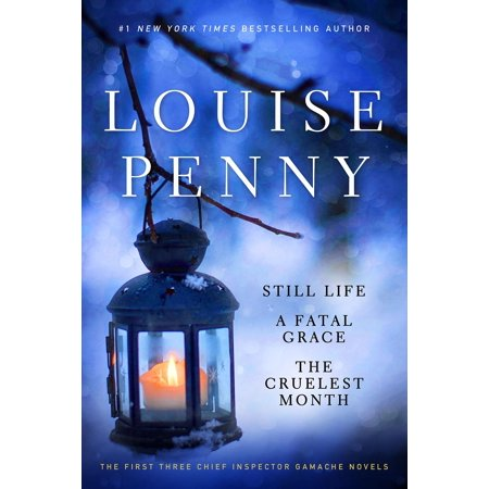 Louise Penny Boxed Set (1-3) : Still Life,  A Fatal Grace, The Cruelest Month Still Life Oranges