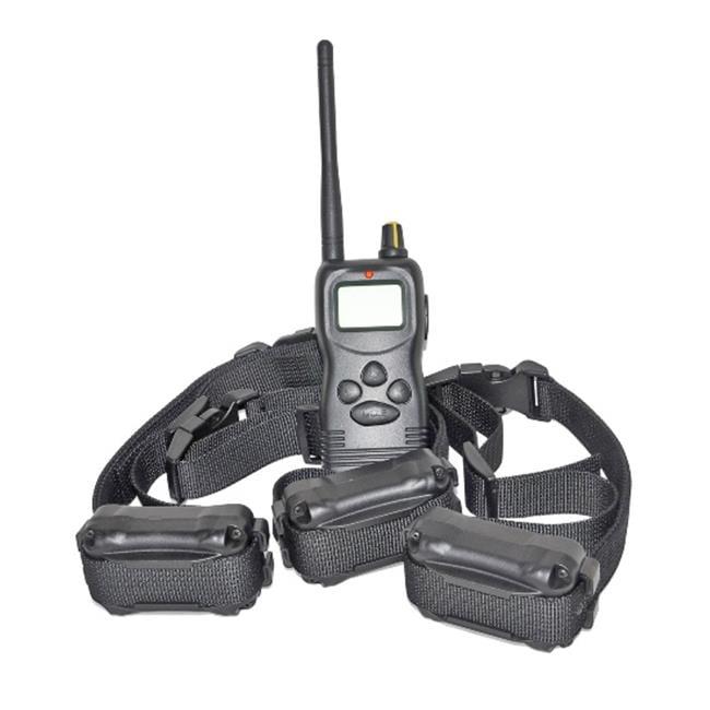 Petrainer PET900-3 1000M Multidog Training System With 3 Receivers + Entrenamiento y comportamiento del perro en VeoyCompro.net