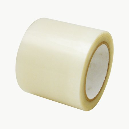 JVCC PES-32G Polyester Film Packaging Tape: 4 in. x 60 yds. (Polyester Pull Tape)
