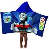 Mattel Thomas The Tank Engine Friends 100% Cotton Terry Kid s Hooded 22 x 51 (Thomas The Tank Engine Hooded Bath Towel)