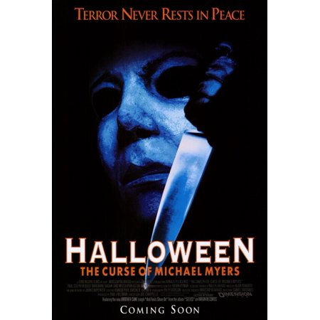 Halloween Wallpaper Michael Myers (Halloween 6: The Curse of Michael Myers (1995) 27x40 Movie)