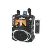 Karaoke USA GF829 - Karaoke system - 15 Watt (total)
