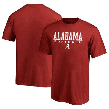 Alabama Crimson Tide Fanatics Branded Youth True Sport Softball T-Shirt - -