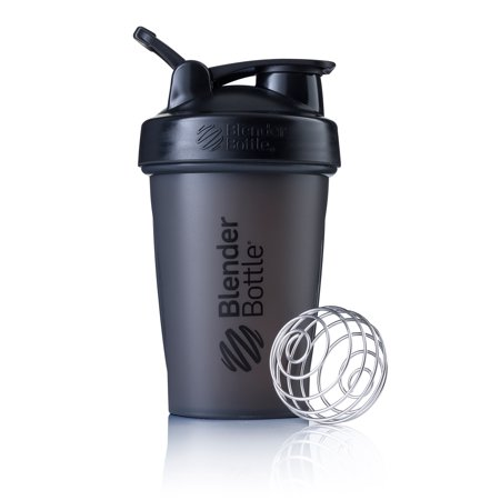 Samba Shaker (BlenderBottle 20oz Classic Shaker Bottle Full Color Black)