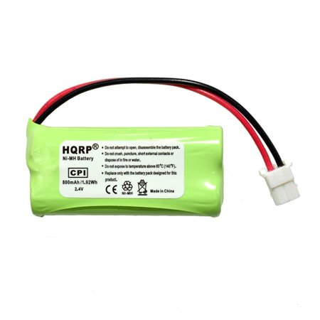 HQRP Cordless Phone Battery 3-Pack for VTech BT166342 CL84300 CL84350 CL82203 BT266342 CL84100 CL84200 CL84250 CL82353 CL82453 CL82553 CL80111 Replacement + Coaster - image 3 of 4