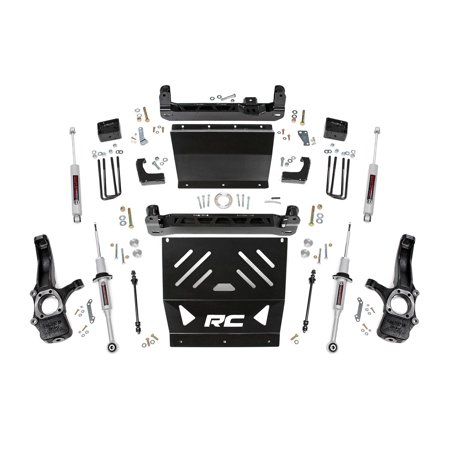 Rough Country Suspension Lift Kits (fits) Chevy Colorado GMC (Best Duramax Lift Kit)