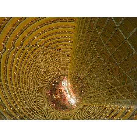 Hyatt Regency Lounge on the 56th Floor, Shanghai, China Print Wall Art By Brent Winebrenner ()