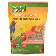 Wild Harvest Super Premium Canary and Finch Food, 2 lb