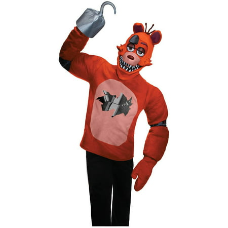 Five Nights at Freddys: Foxy Teen Costume S