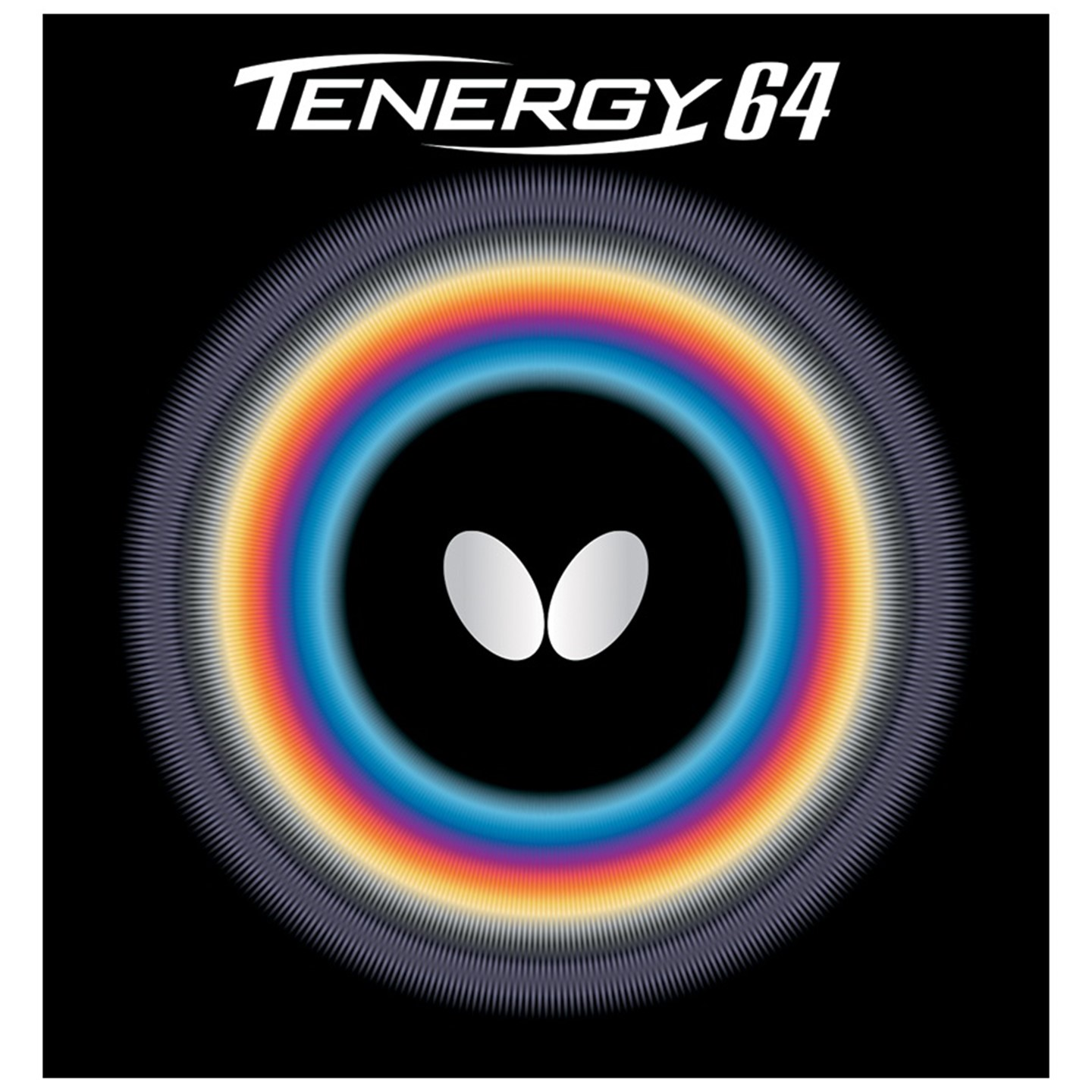Butterfly Tenergy 64 Table Tennis Rubber, 2.1mm, Red