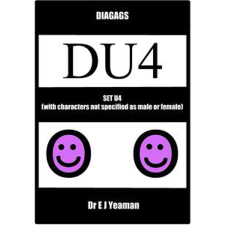 Diagags Set U4 (with Characters Not Specified as Male and Female) - - Female Horror Characters