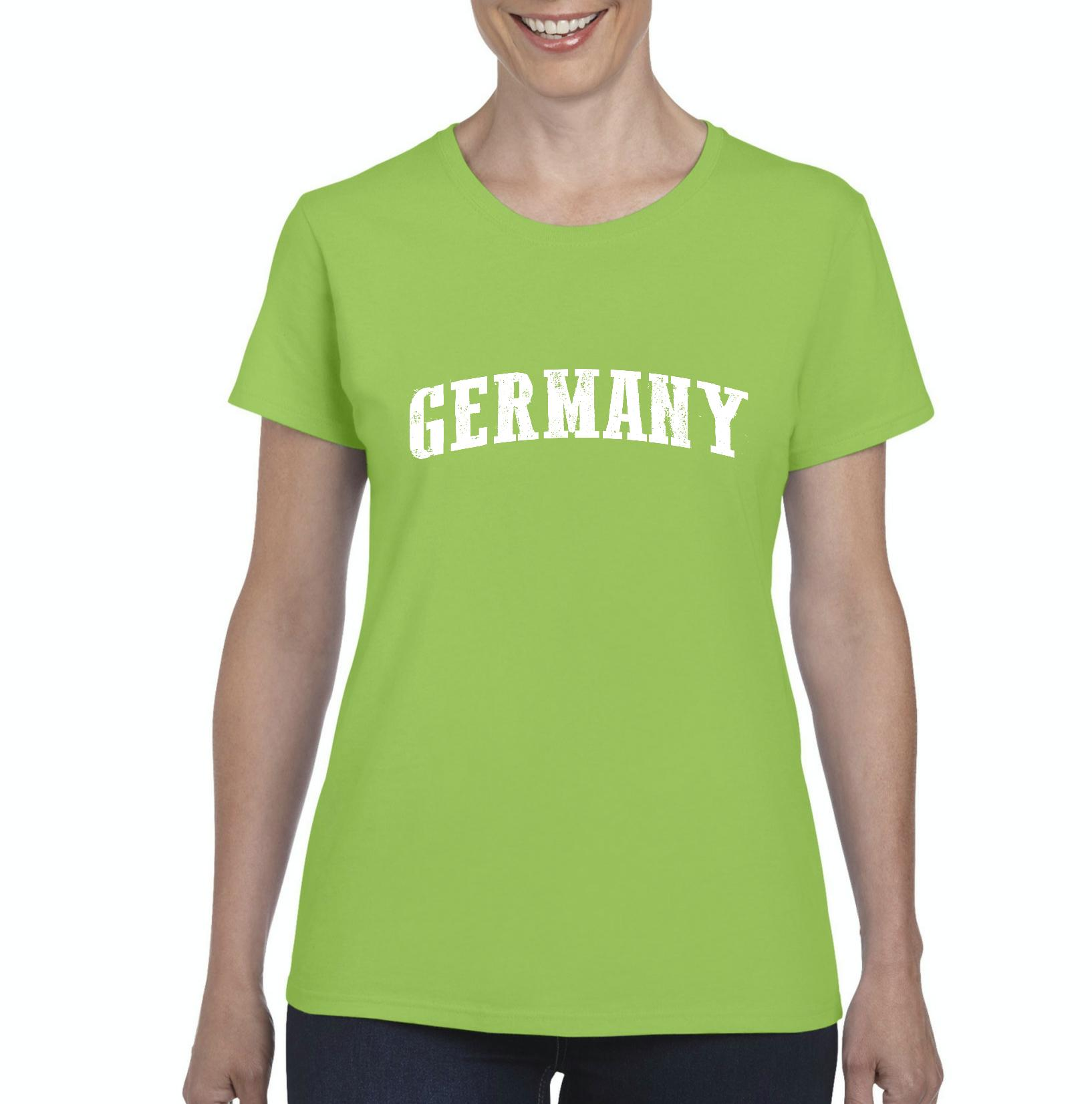 What To Do in Germany Munich Europe Travel Deals Map German Dutch Flag Womens...