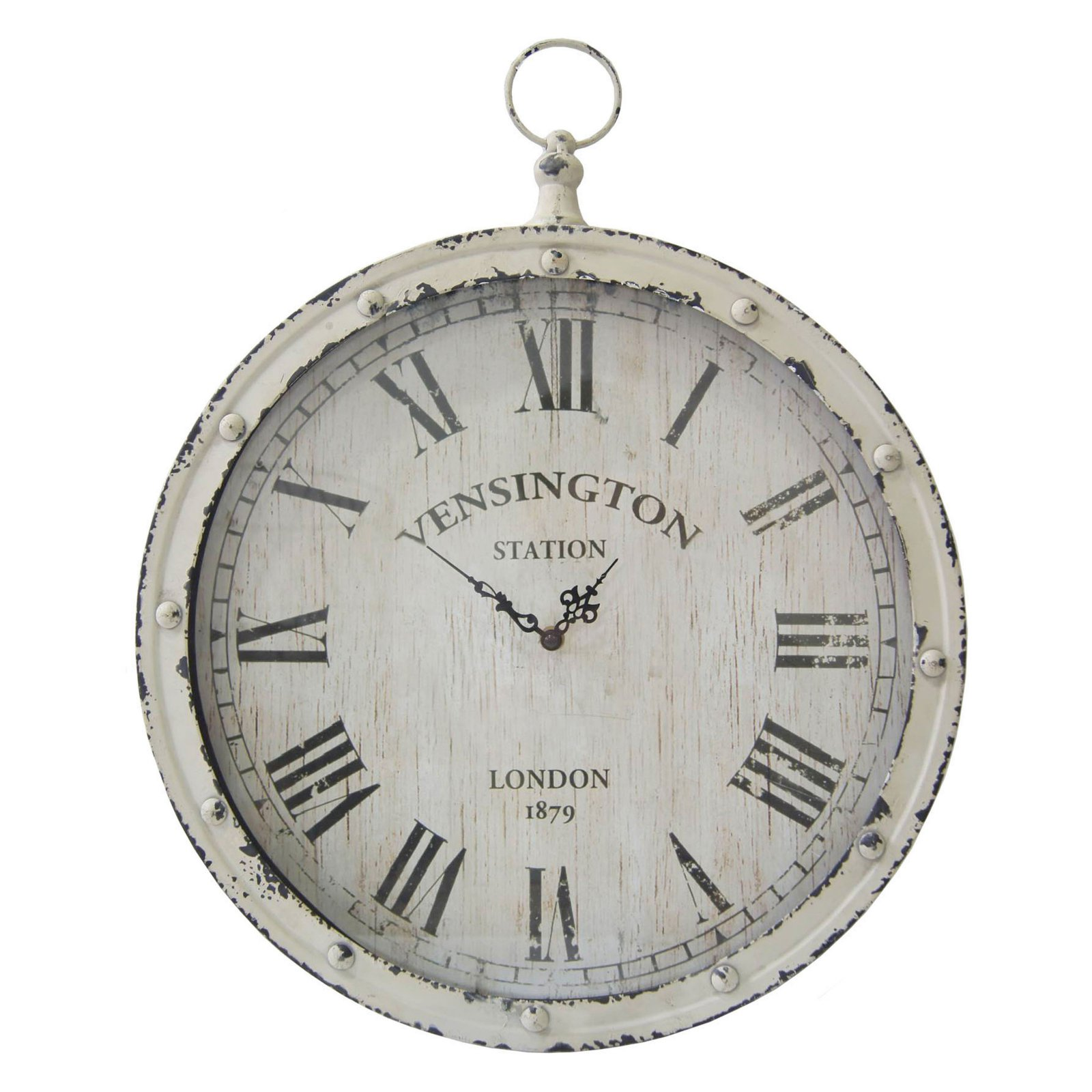 Stratton Home Decor Pocket Watch Wall Clock Walmart Com Walmart Com