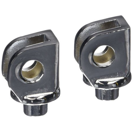 8813 Front Splined Adapter Mount, These splined adapters have teeth that match the foot pegs or floorboards and allow the angle of the footrest.., By Kuryakyn ()
