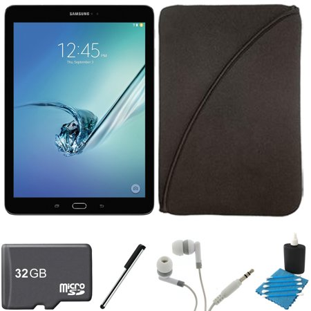 Samsung Galaxy Tab S2 9.7-inch Wi-Fi Tablet (Black/32GB) 32GB MicroSD Card Bundle includes Galaxy Tab S2, 32GB MicroSD Card, Stylus Stylus Pen, Protective Tablet Sleeve