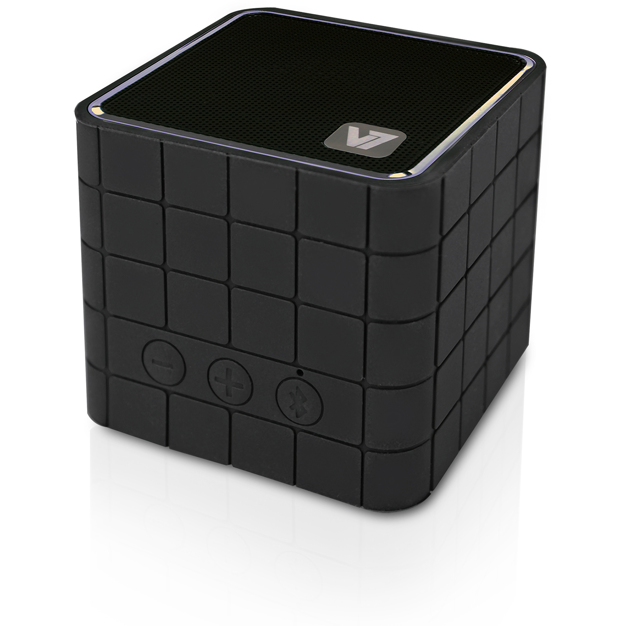 V7 Bluetooth Wireless Portable Speaker with Built-in Microphone (Push to Talk)