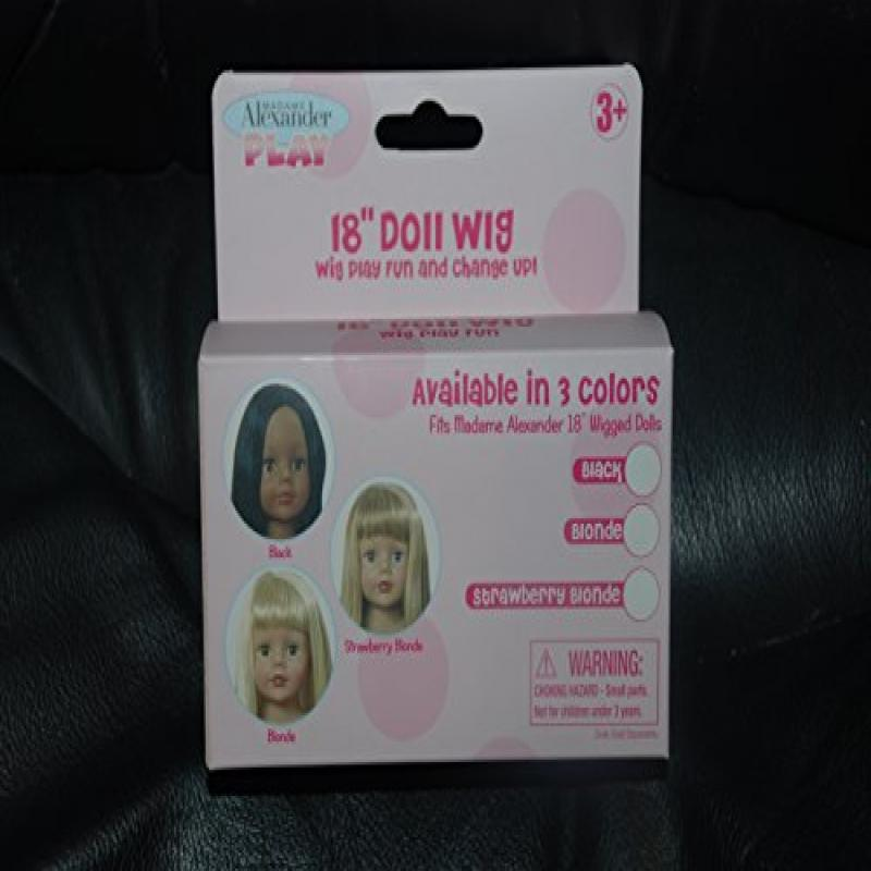 "18"" Doll Wig Pack, Blonde"