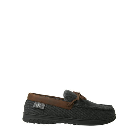DF by Dearfoams Men's Moccasin Slippers