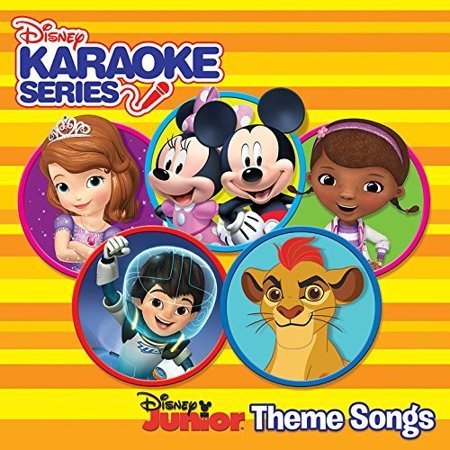Disney Karaoke Series: Disney Junior Theme Songs / Various - Great Halloween Karaoke Songs