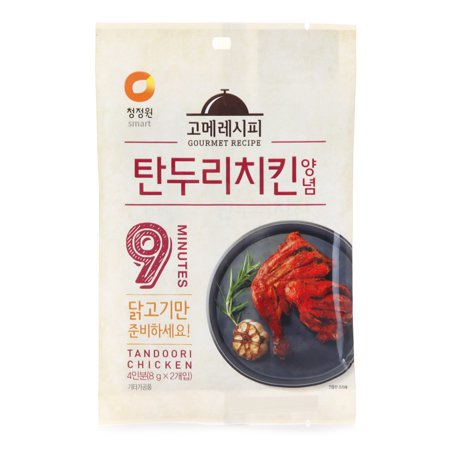chungjungone Gourmet Recipe Spicy Tandoori Chicken 16g K-FOOD (Recipe Box Chicken)