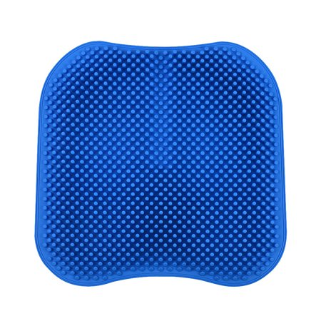 Silica Gel Car Seat Cushion Non Slip Chair Pad for Office Truck Home Breathable Silicone Massage Seat Cover 16.5 inch