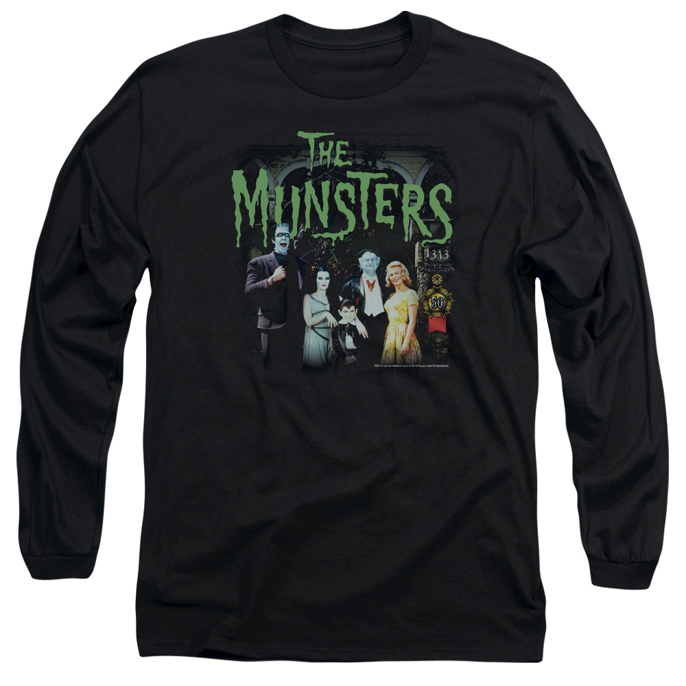 The Munsters 1313 50 Years Mens Long Sleeve Shirt