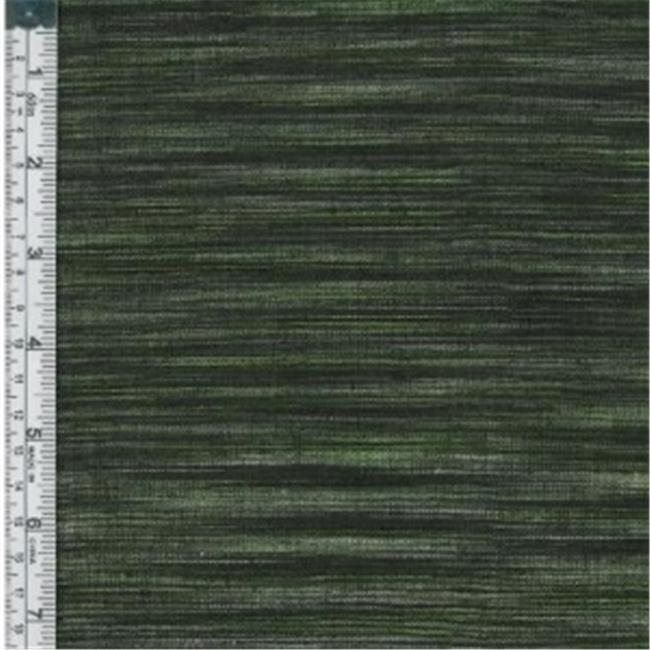 Textile Creations WR-29 Winding Ridge Fabric, Black And Lime Weft Ikat, 15 yd.