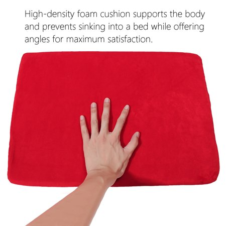Ortho Wedge Cushion - Sex Pillow Couple Cushion Microfiber Bolster Aid Position Wedge Foam Ramp Bed