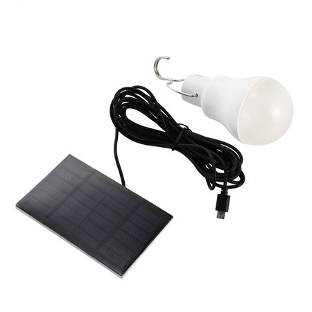 Solar LED Bulb Light White-1 Portable 15W 130lm - image 7 of 7