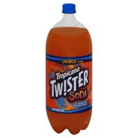 Tropicana Twister Orange Soda, 2 L
