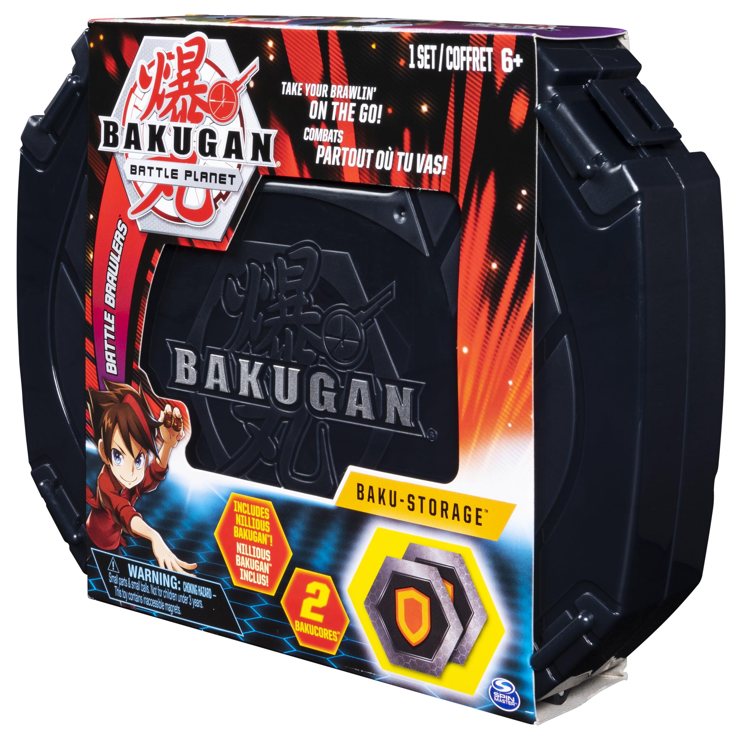 Baku-storage Case for BAKUGAN Collectible Action Figures for Ages 6 BAKUGAN