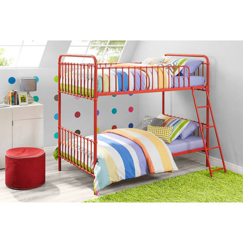 Image of 9 by Novogratz Berkshire Metal Twin/Twin Bunk Bed, Multiple Colors