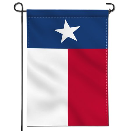 ANLEY [Double Sided] Premium Garden Flag, Texas State Decorative Garden Flags - Weather Resistant & Double Stitched - 18 x 12.5 - Texas Falg