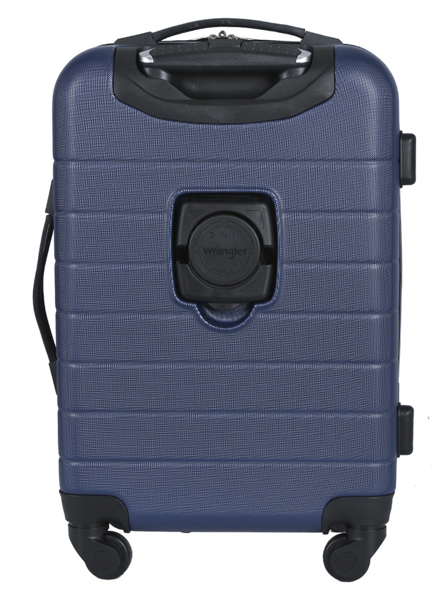 d36086f0a WRANGLER - 20 Expandable Spinner Rolling Carry-on w/ USB Port - Walmart.com
