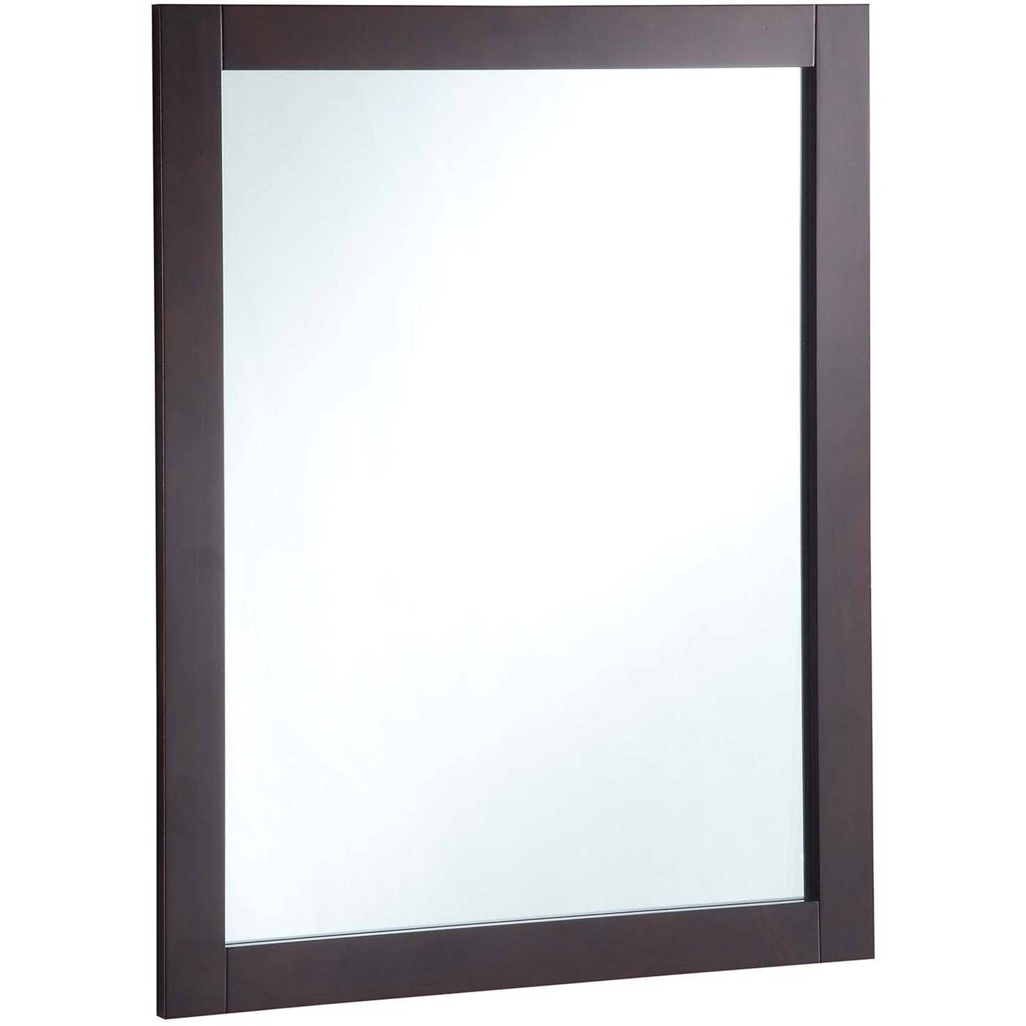 "Design House 547083 24"" x 30"" Vanity Mirror, Espresso by Design House"
