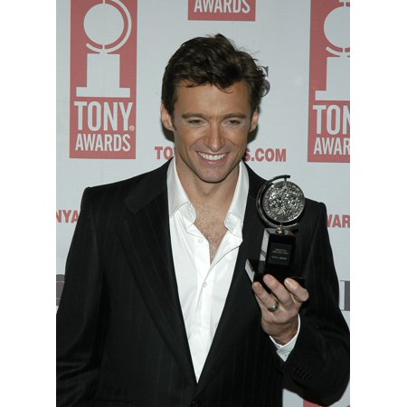 Actor Hugh Jackman Winner For Best Leading Actor In A Musical At 2004 Tony Awards New York June 6 2004