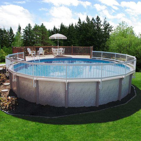 Gli above ground pool fence add on kit c 2 sections - Walmart above ground swimming pools ...